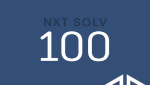 NXT SOLV 100 NXT SOLV 100