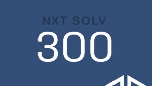 NXT SOLV 300 NXT SOLV 300