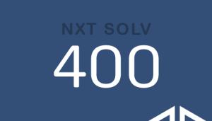 NXT SOLV 400 NXT SOLV 400